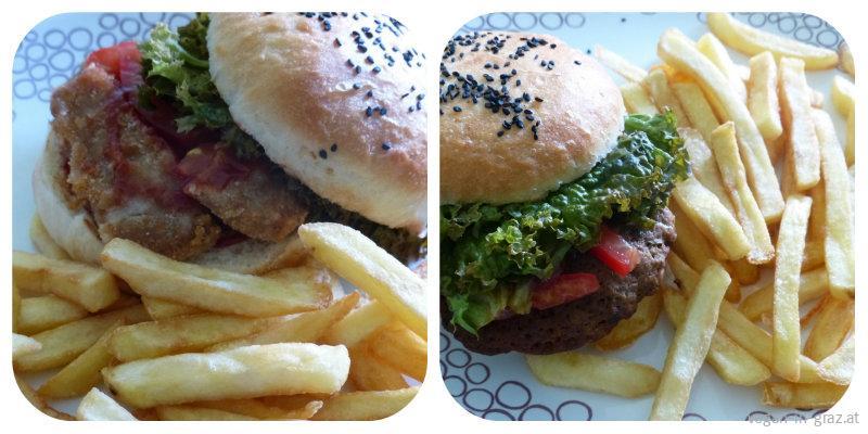 Soja Burger & BBQ Burger