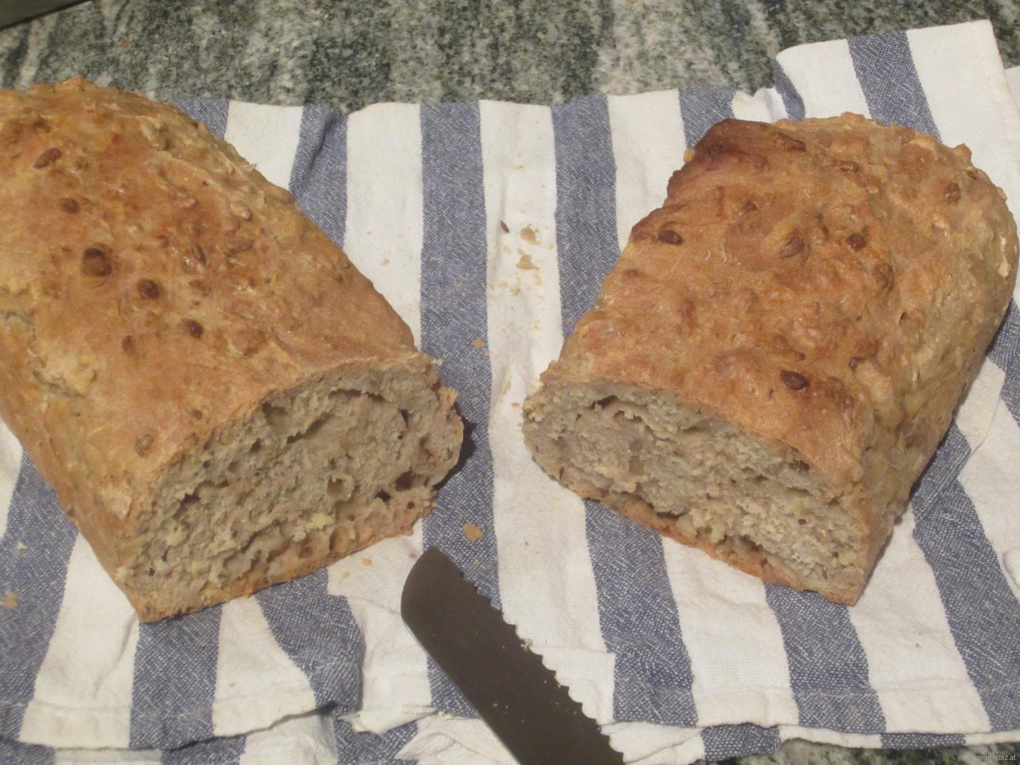 Einfaches Brot schnell selber backen