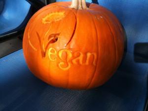vegan pumpkin