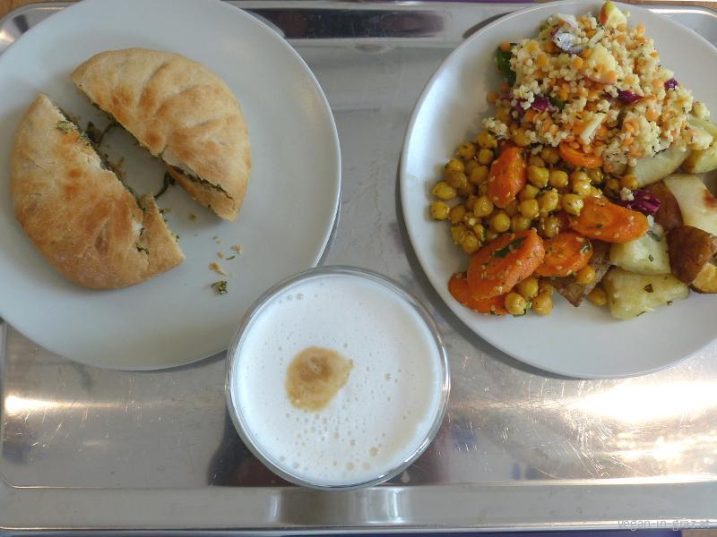 deli bluem veganes Menü