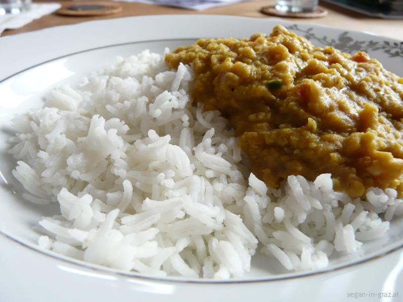 nsencurry mit Basmatireis