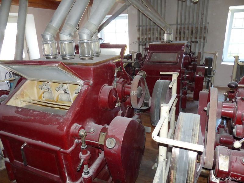 Rosenfellner Mühle Mahlprozess