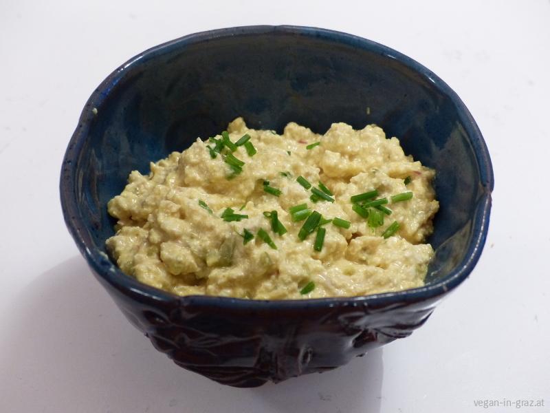 Veganer Eiaufstrich mit Kala Namak